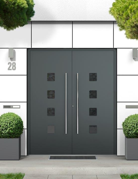 Supertherm Double Doors