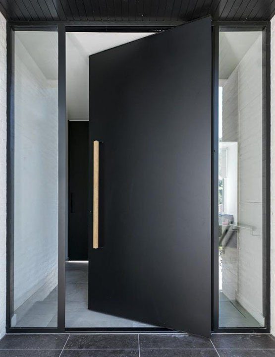 Pivot Front Doors